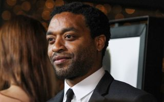 Chiwetel Ejiofor arrives at the