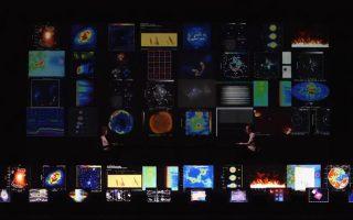 Ο Ριότζι Ικέντα παρουσιάζει το οπτικοακουστικό θέαμα «Superposition»
