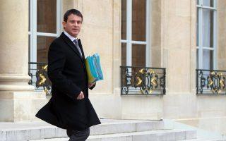Ο νέος προθυπουργός της Γαλλίας, Μανουέλ Βάλς.