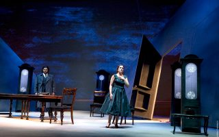 Ο «Βέρθερος» του Ζιλ Μασνέ είναι η νέα παραγωγή της Εθνικής Λυρικής Σκηνής, που έκανε πρεμιέρα χθες.