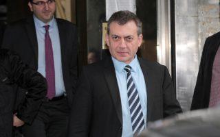 Ο Υπουργός Εργασίας Γιάννης Βρούτσης αποχωρεί από το υπουργείο Οικονομικών μετά τη συνάντηση του με εκπρόσωπους της Τρόικα ΕΕ, ΔΝΤ, ΕΚΤ, Τρίτη 25 Φεβρουαρίου 2014. ΑΠΕ-ΜΠΕ/ΑΠΕ-ΜΠΕ/Παντελής Σαίτας