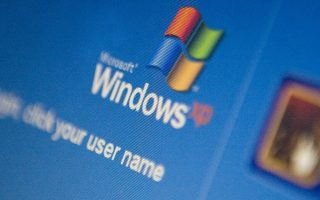 UNITED KINGDOM - APRIL 27:  The Microsoft Windows XP log-in screen is displayed on a laptop computer in Essex, U.K., on Monday, April 27, 2009. Microsoft Corp., set to release a near-finished version of the Windows 7 operating system this week, said the program may go on sale by the year-end holiday season.  (Photo by Chris Ratcliffe/Bloomberg via Getty Images)