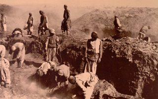 Το σύγχρονο ενδιαφέρον για την «Οξυρρύγχου Πόλιν» χρονολογείται από το 1896, χάρις στις ανασκαφές δύο νέων αρχαιολόγων από το Πανεπιστήμιο της Οξφόρδης, των Μπερνάρ Γκρένφελ και Αρθουρ Χαντ.
