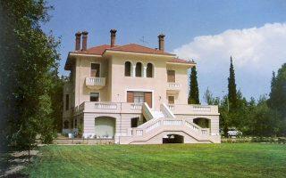 Το κτίριο που στεγάζει το Ελληνικό Ιδρυμα Πολιτισμού στο Ψυχικό ανακαινίζεται, καθώς υπήρχαν ίχνη εγκατάλειψης.