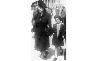 Φωτογραφία δρόμου στην οδό Πανεπιστημίου, το 1943.