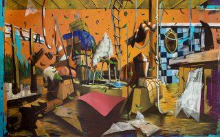 Luca Moscariello, «Outcast», από το περίπτερο της Ιnternational Art Gallery Angels.