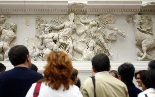 Με τους πολιτιστικούς φορείς του Βερολίνου και της Γερμανίας θέλει να συνεργαστεί η νέα επικεφαλής του ΕΙΠ στο Βερολίνο, Ελένη Βαροπούλου. Στη φωτογραφία, το Μουσείο της Περγάμου στο Βερολίνο.