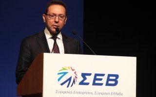 Η ολοκλήρωση των μεταρρυθμίσεων θα επιτρέψει τη μείωση των έκτακτων φορολογικών βαρών τόνισε ο υπουργός Οικονομικών Γιάννης Στουρνάρας στην ετήσια γενική συνέλευση του ΣΕΒ.