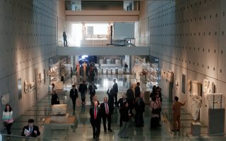 Το Μουσείο της Ακρόπολης είναι κομμάτι και της εθιμοτυπίας της χώρας.