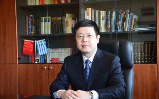 Ο Κινέζος πρέσβης στην Ελλάδα Zou Xiaoli.