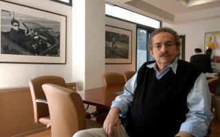 Δημήρης Εϊπίδης, ο διευθυντής του Φεστιβάλ Κινηματογράφου Θεσσαλονίκης.