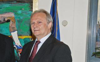 Ο  υφυπουργός Αθλητισμού Γιάννης Ανδριανός.