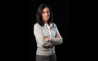 Η πρόεδρος του Ελληνικού Δικτύου για την Εταιρική Κοινωνική Ευθύνη κ. Μαρία Αλεξίου.