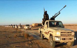 Κονβόι οχημάτων του ISIS στην επαρχία Νινευή