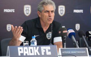 Το πλάνο του για τον νέο ΠΑΟΚ αποκάλυψε χθες ο Αγγελος Αναστασιάδης, από τη θέση πλέον του προπονητή του ΠΑΟΚ.