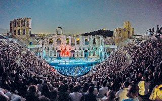 «Nτον Tζοβάνι», πρεμιέρα στο κατάμεστο Hρώδειο, μια γιορτή της μουσικής στο πλαίσιο του Φεστιβάλ Aθηνών που πάντα τιμά το ελληνικό κοινό, ιδίως όταν είναι η πρώτη καλοκαιρινή παραγωγή της Λυρικής Σκηνής! (φωτογραφίες Stefanos)