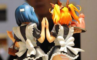 Πόστερ στη διεθνή έκθεση κινουμένων σχεδίων του Τόκιο