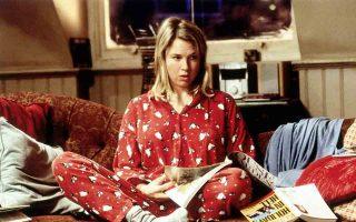 Η Ρενέ Ζελβέγκερ ως Μπρίτζετ Τζόουνς. Η νευρωτική, χαριτωμένη στρογγυλή ηρωίδα, που αγαπά τα αγόρια και το αλκοόλ όχι απαραίτητα με αυτή τη σειρά.