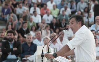 «Είναι τα συμφέροντα που εμποδίζουν το πολιτικό σύστημα να πάρει τις σωστές αποφάσεις ακόμη και τώρα που η χώρα έχει γονατίσει» τόνισε χαρακτηριστικά ο Σταύρος Θεοδωράκης κατά την ομιλία του στο Συνέδριο του «Ποταμιού».
