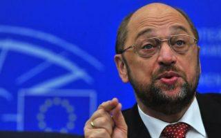Ο Μάρτιν Σουλτς είναι ο πρώτος πρόεδρος της Ευρωβουλής που παραμένει για δεύτερη συνεχόμενη θητεία στο πόστο του.