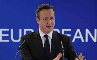 Ο Βρετανός πρωθυπουργός Ντέιβιντ Κάμερον απαιτεί ολοκληρωτικές μεταρρυθμίσεις στην Ε.Ε.