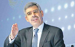 Ο Μοχάμεντ ελ Εριάν θεωρεί πως είναι σημαντικό να κεφαλαιοποιήσει η Ελλάδα την πρόσφατη πρόοδο και να διατηρήσει τις μεταρρυθμίσεις.