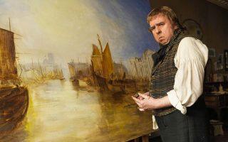 Στη νέα ταινία του Μάικ Λι ο 57χρονος ηθοποιός υποδύεται τον ζωγράφο του 19ου αι. Γουίλιαμ Τέρνερ - μια θυελλώδη προσωπικότητα.