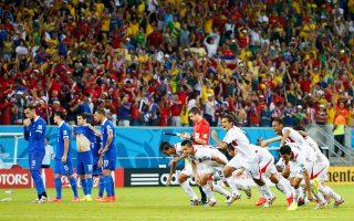 Η Εθνική ομάδα ποδοσφαίρου επιστρέφει από το Παγκόσμιο Κύπελλο της Βραζιλίας σήμερα το απόγευμα στην Ελλάδα, έχοντας στις αποσκευές της την παγκόσμια αναγνώριση και μία ιστορική πρόκριση στις 16 καλύτερες ομάδες της υφηλίου, κλείνοντας μία άκρως επιτυχημένη εικοσαετία από τότε που πάτησε για πρώτη φορά στο Μουντιάλ των Ηνωμένων Πολιτειών.
