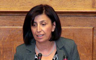 Η Βουλευτής του ΣΥΡΙΖΑ Ευγενία Ουζουνίδου