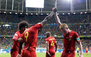 To Βέλγιο επιβεβαιώνει αυτούς που το ήθελαν να προχωράει πολύ στο Παγκόσμιο Κύπελλο της Βραζιλίας.