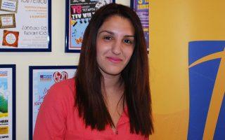 Η Κατερίνα Μισθού, από τη Ρόδο, η οποία, όπως όλα δείχνουν, φέτος θα είναι η «πρώτη των πρώτων».
