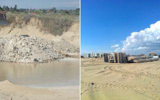 «Η θιγόμενη περιοχή χαρακτηρίζεται από εκτεταμένες αμμοθίνες, ευαίσθητα οικοσυστήματα και αποτελεί καταφύγιο για πολλά είδη χλωρίδας και πανίδας, ενώ προστατεύει το έδαφος από τη διάβρωση της θάλασσας».
