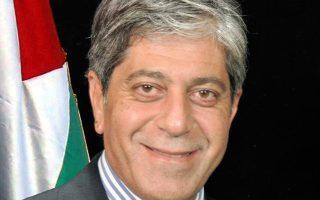 O Marwan Toubassi, πρέσβης του Κράτους της Παλαιστίνης.