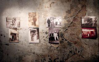 Αποψη πρόσφατης έκθεσης με φωτογραφίες των ίδιων των κατοίκων από το Γκάζι και τις γειτονικές περιοχές.