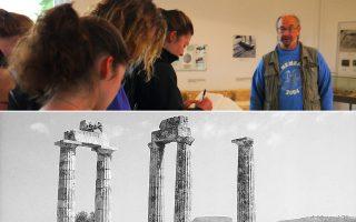 Ο καθηγητής Στέφανος Μίλερ ξενάγησε χθες τον νέο υπουργό Πολιτισμού Κώστα Τασούλα στο αρχαιολογικό πάρκο της Νεμέας, που κινδύνευσε να κλείσει λόγω έλλειψης προσωπικού.