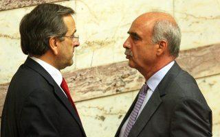 Να διασκεδάσει τα σενάρια περί έντασης στις σχέσεις του με το Μέγαρο Μαξίμου επιδίωξε χθες ο πρόεδρος της Βουλής Ευ. Μεϊμαράκης.