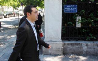 Ο πρόεδρος του ΣΥΡΙΖΑ Αλ. Τσίπρας εξετάζει το ενδεχόμενο να μεταβεί αύριο στον Πρόεδρο της Δημοκρατίας, ζητώντας του να μην υπογράψει το επίμαχο ν/σ.