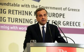 «Δεν θα αφήσουμε ποτέ η χώρα να βρεθεί στο χάος που περάσαμε», είπε ο πρωθυπουργός Αντώνης Σαμαράς, κατά τη χθεσινή ομιλία του στο διεθνές συνέδριο του Economist.