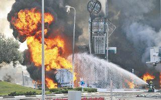 Βενζινάδικο της Ασντόντ έπληξε χθες πύραυλος από τη Γάζα, χωρίς να προκαλέσει θύματα.