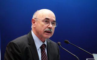 Ο Εθνικός Συντονιστής για την καταπολέμηση της Διαφθοράς Ιωάννης Τέντες.
