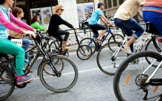 Μια συνηθισμένη μέρα αξίζει τον κόπο να δοκιμάσει κάποιος να πραγματοποιήσει έστω και μία μικρή μετακίνηση με το ποδήλατο.