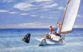 «Ground Swell», έργο του Εντουαρντ Χόπερ, 1939, Corcoran Gallery of Art, Washington, DC, ΗΠΑ.