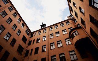 «Το Κτίριο στη Γωνία»: το τετραώροφο κτίσμα στη Ρίγα της Λεττονίας όπου στεγάστηκε η διαβόητη KGB, σκορπίζοντας τον τρόμο επί σειρά δεκαετιών.