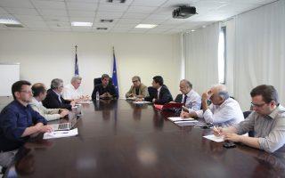 Με πρυτάνεις πανεπιστημίων και προέδρους ΤΕΙ συναντήθηκε χθες ο υπουργός Παιδείας, Ανδρέας Λοβέρδος.