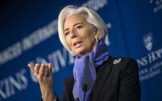 Η κ. Κριστίν Λαγκάρντ ανέφερε ότι η μελέτη βιωσιμότητας του χρέους θα γίνει με βάση το πρωτογενές πλεόνασμα του 2013 και τις εκτιμήσεις για εκείνο του 2014.