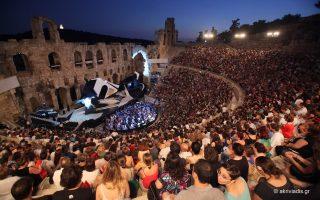 Το Ηρώδειο φιλοξενεί απόψε την τελευταία παράσταση του «Οθέλλου».