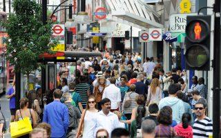 Το βρετανικό ΑΕΠ ενισχύθηκε κατά 0,8% στη διάρκεια του β΄ τριμήνου του 2014.