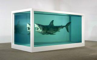 Το έργο του Ντάμιεν Χιρστ, The Physical Impossibility of Death in the Mind of Someone Living,πουλήθηκε προ δεκαετίας προς 8 εκ. δολάρια.