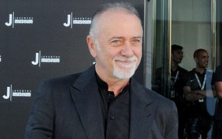 epa04298086 A picture dated 16 May 2012 shows Italian writer Giorgio Faletti at the inauguration of the Juventus Museum in Turin, Italy. Faletti died of a lung cancer at Molinette Central Hospital in Turin on 04 July 2014. Faletti was 63.  EPA/ALESSANDRO DI MARCO