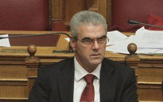 ο υφυπουργός Περιβάλλοντος, Ενέργειας και Κλιματικής Αλλαγής, Μάκης Παπαγεωργίου.